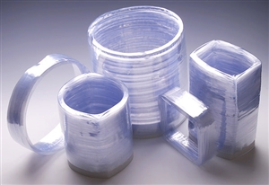Preformed Shrink Bands Clear For 4 Compartment Tray