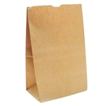 Duroscot Shorty Bag Kraft - 10.13 in. x 6.75 in. x 14.38 in.