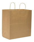 Super Royal Shopping Bag 100 Percent Recycled Kraft - 14 in. x 10 in. x 15.75 in.