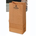 16 Lb. Grocery Bag 40# Kraft 100 Percent Recycled - 7.75 in. x 4.81 in. x 16 in.