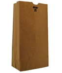 100 Percent Recycled Grocery Bag Kraft 20 Lb. - 8.25 in. x 3.31 in. x 16.13 in.