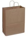 Mart Shopping 100 Percent Recycled Paper Bag - 16 in. x 6 in. x 12 in.
