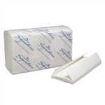 Signature 2 Ply C-Fold White Paper Towel - 10.25 in. x 13.25 in.