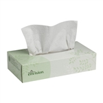 Envision Facial Tissue 2 Ply White - 8.33 in. x 8 in.