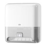 Tork Matic White Plastic Hand Towel Roll Dispenser - 14.5 in. x 13 in. x 8 in.