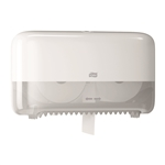Tork Twin High Capacity Dispensers For Bath White Tissue