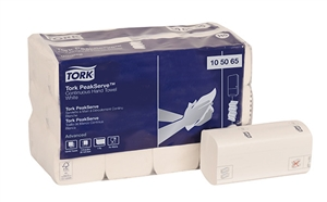 1 Ply White Paper Continuous Hand Towel - 8.9 in. x 7.9 in.