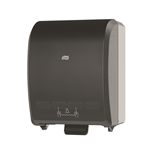 Black Plastic Hand Towel Roll System - 16 in. x 12.3 in. x 9.3 in.