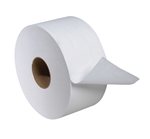 Tork Mini Jumbo White 2-Ply Bath Tissue - 3.6 in. x 751 ft.