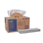 Tork Premium Multipurpose Cloth Gray Folded - 15 in. x 16.5 in.