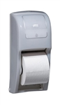Tork Elevation High Capacity Bath Tissue Roll Dispenser White - 6.3 in. x 14.2 in. x 6.5 in.