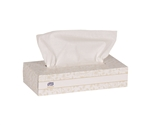 Tork Premium Flat Box White Facial Tissue - 9 in. x 8 in.