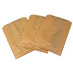 Kraft Waxed Sanitary Napkin Bag - 7.5 in. x 3.5 in. x 10.25 in.