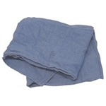 Light Blue Rinsed Cotton Huck Towel - 14-15 in. x 23-25 in.