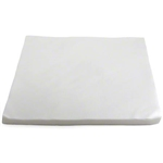 Taskbrand Linen Replacement Napkin Airlaid Flat White - 16 in. x 16 in.