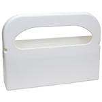 Half-Fold Toilet Seat Cover White Dispenser with Tape