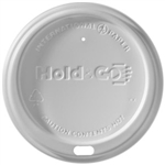 Hold and Go White Dome Lid For 12, 16, 20 oz. Cups