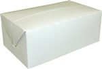 White Small Auto Bottom Fast Top Carryout Carton - 4.5 in.
