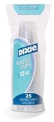 Clear Wise Size Plastic Cup - 12 oz.