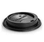 Dome Sipper Pet Black Lid for 12, 16, 20 oz. Hot Cups