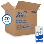 Scott Roll Towel 1-Ply Perfed White - 11 in. x 8.75 in.