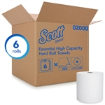 Scott Essential High Capacity Hard Roll Paper Towels White -1.75 in. x 950 Ft.