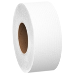 Scott Jumbo Roll 1 Ply Recycled Junior Bath Tissue - 3.5 in. x 2000 ft.