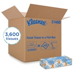Kleenex White Facial Tissue - 8.4 in. x 8.2 in.