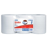 Wypall L20 White 2 Ply Roll Towel - 9.8 in. x 13.4 in.