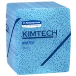 Kimtech Prep Kimtex Heavy Duty Blue Wiper - 12.5 in. x 12 in.