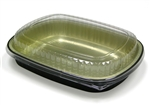 Large Carry Out Aluminum Tray with Dome