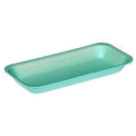 Green 1.5 Foam Tray - 8.40 in. x 3.90 in. x 1 in.