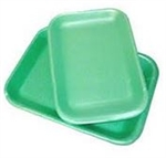 Foam Tray Green - 8 in. x 8.5 in. x 3 in.