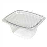 Showcase Clear Deli Combo With Flat Lid - 16 oz.