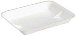 Foam Tray White - 9.5 in. x 7 in. x 1.25 in.