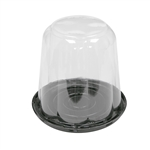 RoseDome Black Base and Rose Lid Cake Combo - 6.75 in. x 4.5 in.