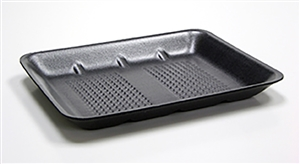 Black Foam Tray - 10.5 in. x 8.25 in. x 1.2 in.