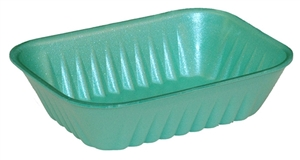10K Foam Green Tray - 10.6 in. x 6.9 in. x 2.2 in.