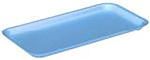 10S Foam Blue Tray - 10.75 in. x 5.75 in. x 0.6 in.