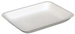 4H Foam White Tray - 9.25 in. x 7.25 in. x 1.25 in.