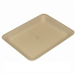 20K Processor Yellow Foam Tray - 12 in. x 9.25 in. x 2.4 in.
