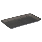 Foam Tray Black - 14.91 in. x 8 in. x 1 in.