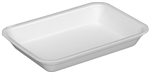 25SH Foam White Tray - 14.9 in. x 8 in. x 1 in.