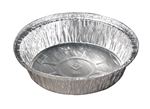 Aluminum Hemmed Edge Round Pan - 7 in.