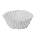 White Baking Cup - 4.5 in. x 2 in. x 1.25 in.