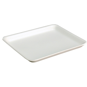 9L White Foam Tray