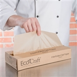 EcoCraft Interfolded Natural Deli Paper - 12 in. x 10.75 in.