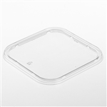 Square Tub Clear Lid - 8.75 in. x 8.75 in. x 0.5 in.
