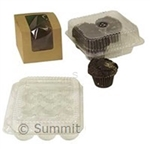 Muffin Clamshell Clear Container - 11 in. x 13 in. x 3.5 in.