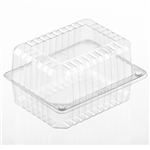 Large Clear Jelly Roll Container Ops - 6.38 in. x 4.81 in. x 4 in.